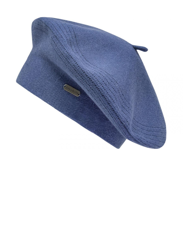 Baret Maxima blauw - chemo muts / alopecia hoofdbedekking