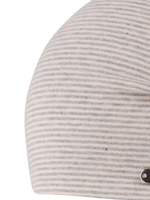Beanie Piti grey - chemotherapie mutsje / alopecia mutsje