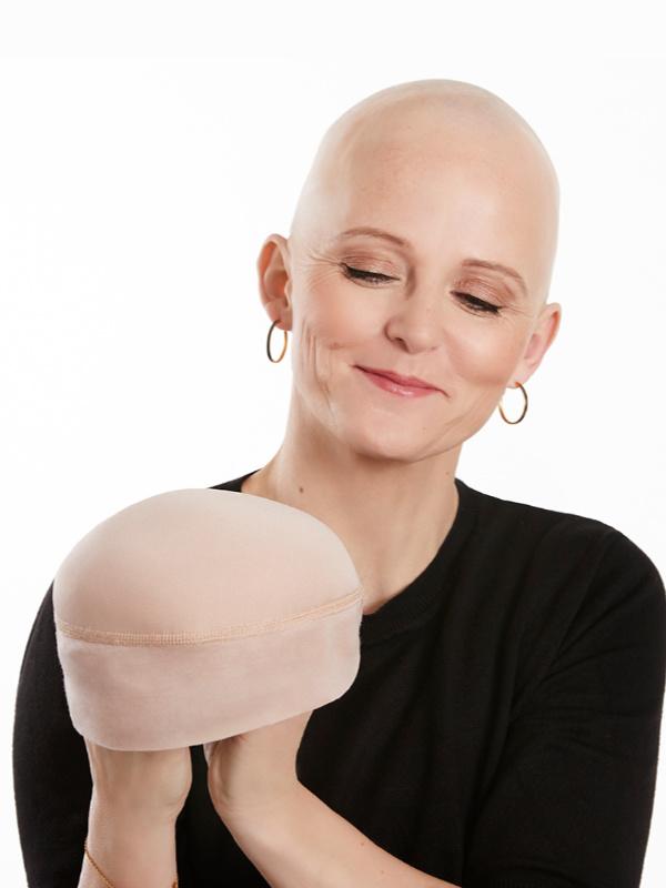 Shaper voor onder een chemo mutsje