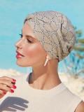 Turban Shakti Linen Indian Cord - cancer hat / alopecia headwear