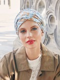 Turban Shakti Ikat Blues - chemo mutsjes Christine headwear