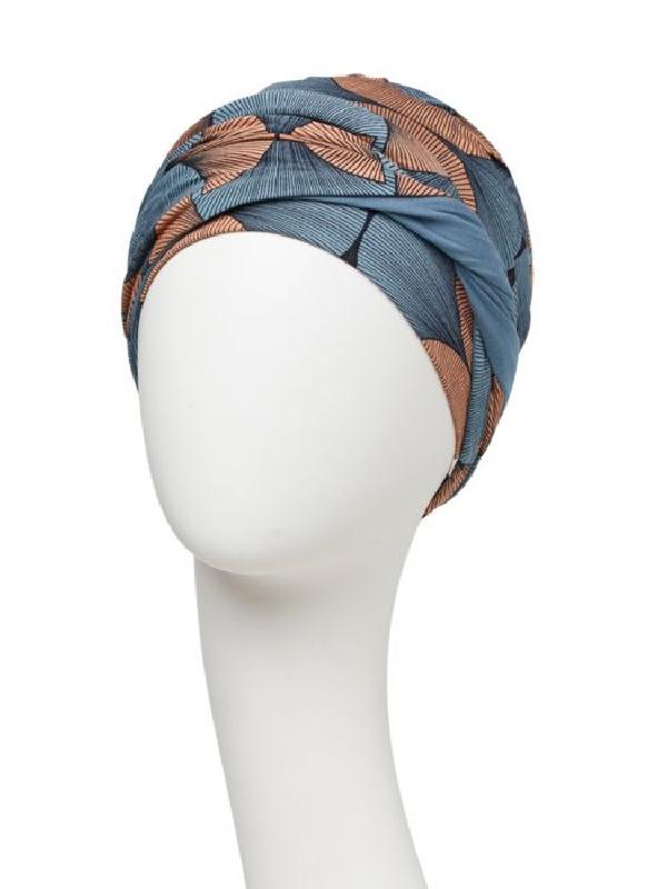 Turban Shakti Autumn Illusions - chemo hoofdbedekking vrouwen / alopecia mutsje