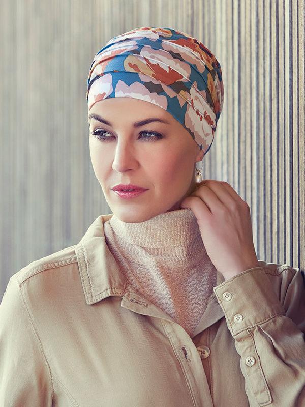 Top Yoga Autumn Cherries - chemo mutsje / alopecia mutsje