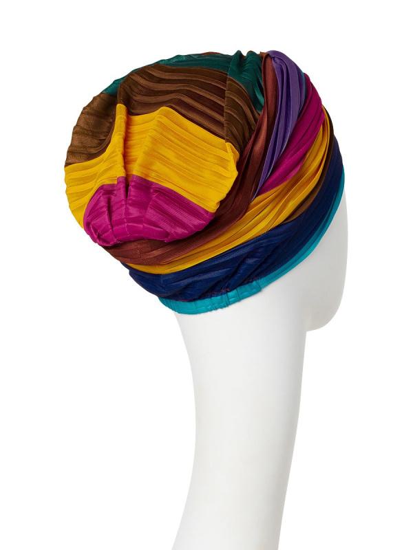 Chemo mutsjes Christine Headwear Nederland - Turban Luna V Rainbow II