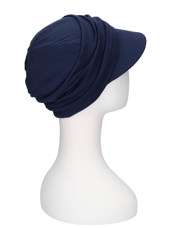 Pet B.B. Bella Blue - chemo mutsje / alopecia mutsje van Christine Headwear
