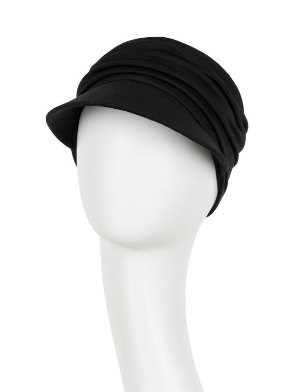 Pet B.B. Bella Black - chemo mutsje / alopecia mutsje van Christine Headwear