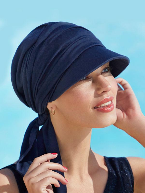 Pet B.B. Brianca Blue - chemomuts / alopecia mutsje