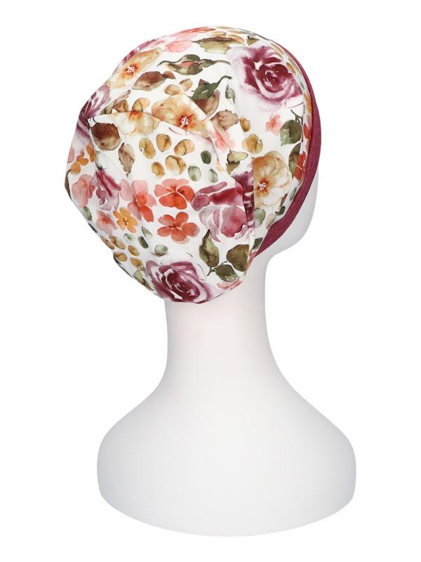 Top Mix Rose Garden - chemo muts / alopecia mutsje