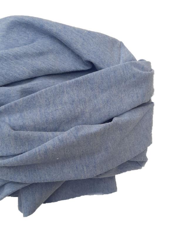 Chemo mutsjes Mooihoofd - Top PLUS blauw melee