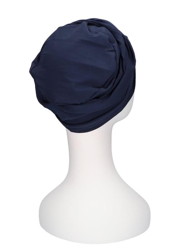 Top PLUS Navy - mutsje voor chemo of alopecia - Mooihoofd
