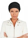 Top PLUS zwart - mutsje voor chemo of alopecia mutsje - Mooihoofd
