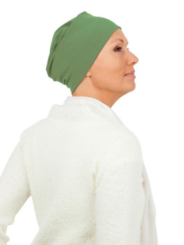 Top Tio Lime - chemo mutsje / alopecia mutsje