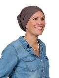 Top Tio bruin melee - chemo mutsje / alopecia mutsje