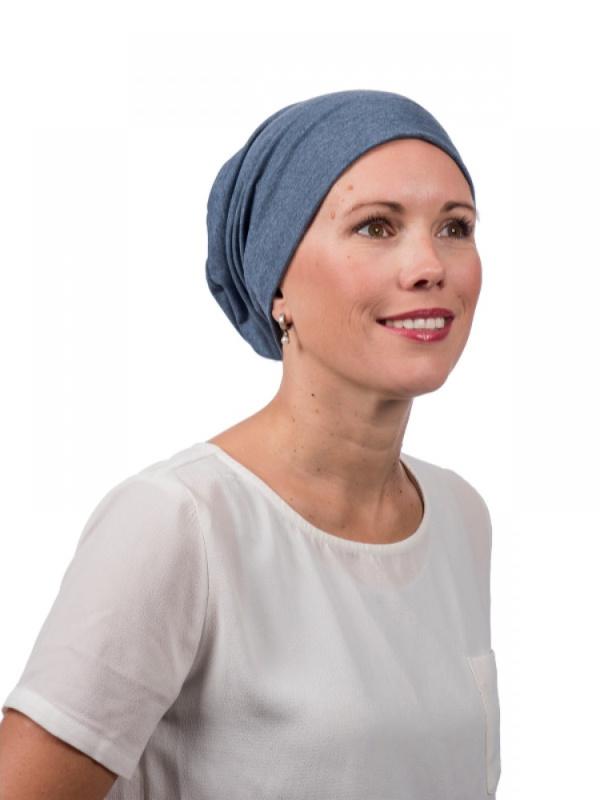 Top Tio Jeans - Mooihoofd - chemo mutsje / alopecia mutsje