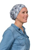 Top Tio Fireworks Grey - chemo mutsje / alopecia mutsje