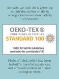 chemo mutsje / alopecia mutsje gemaakt van Oekotex stof