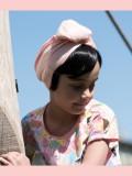 Pony Yasmijn - haarwerk voor meisjes met chemo mutsje