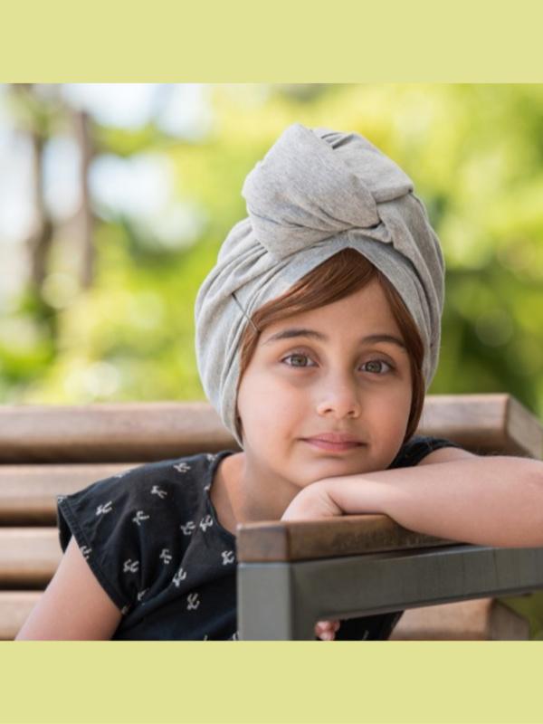 Pony Anna - haarwerk voor meisjes (pony) met chemo mutsje