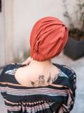 Turban Vintage Rusty - chemo mutsje / alopecia mutsje