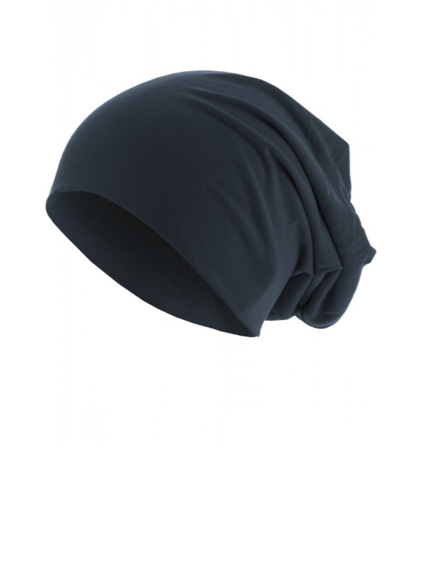 Top beanie  jersey 10285 navy - chemo mutsje / alopecia mutsje