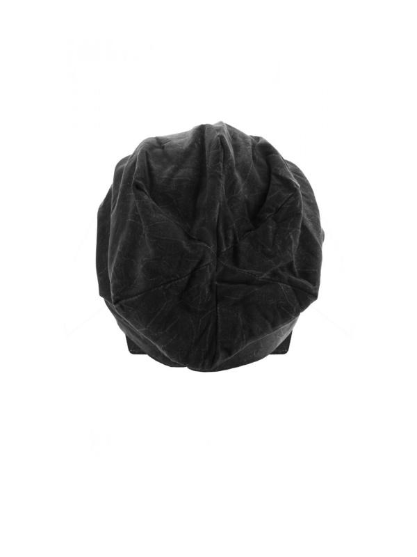 Top stone zwart - chemomutsje / alopecia hoofdbedekking