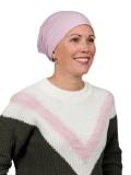 Slaapmutsje Lavender - chemo mutsje / alopecia mutsje