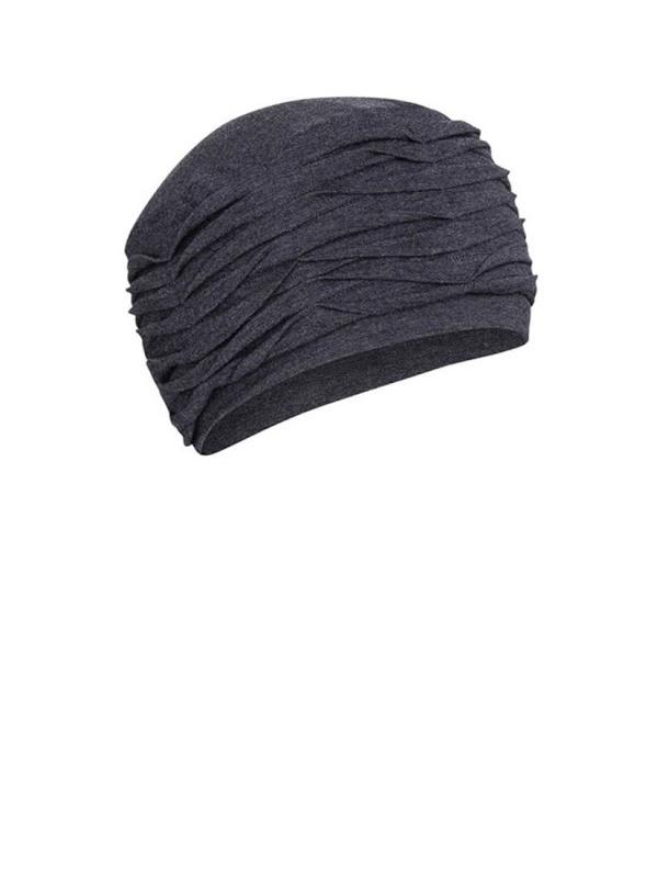 Top Willow Blauw Melange - chemo mutsje / alopecia mutsje