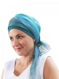 Sjaal-band Ocean - chemo sjaal / alopecia sjaal