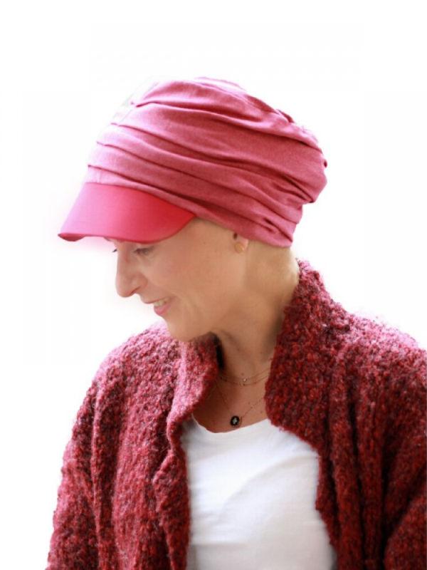Pet Diane Rood - chemo mutsje / alopecia mutsje