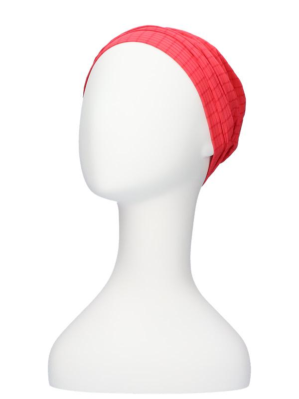 Comfortabel mutsje Iris Fantasie Roze- mutsje voor chemo / alopecia hoofdbedekking