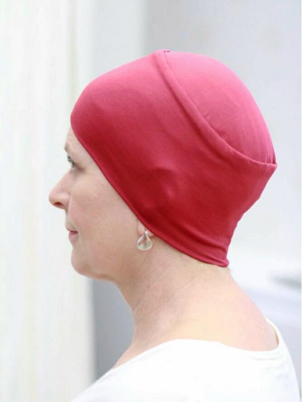 Slaapmutsje Lee Framboos ThermoCool - chemo mutsje / alopecia mutsje