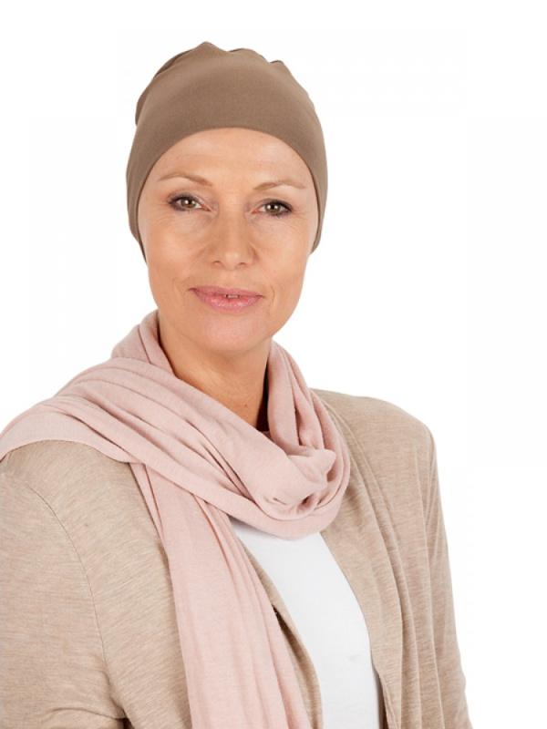 Slaapmutsje LB - chemo mutsje / alopecia mutsje te koop bij Mooihoofd