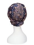 Top Mano Print Bruin - chemo mutsjes / alopecia mutsje - verkrijgbaar bij MooiHoofd