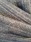 Mutsje Maya blauw grijs glitter