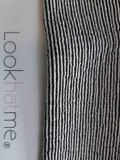 Mutsje Maya striped black/white