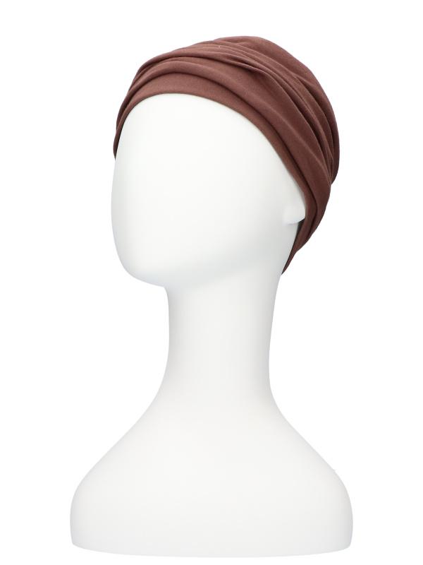Top Noa bruin - chemomutsje / alopecia mutsje