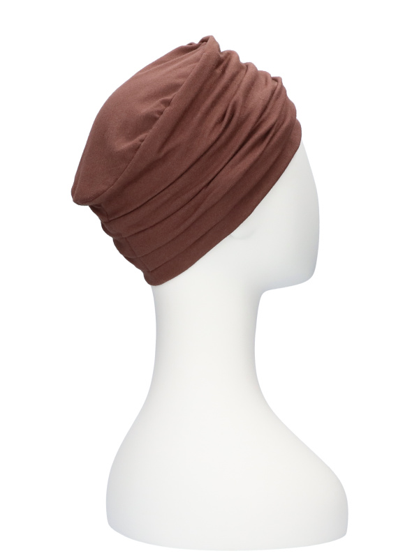 Top Noa bruin - chemo mutsje / alopecia mutsje
