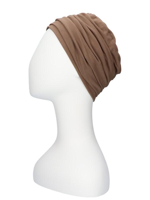 Top Noa taupe - chemomutsje / alopecia mutsje