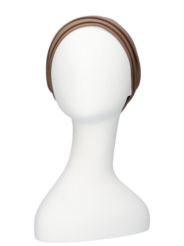 Top Noa taupe - chemomutsjes Lookhatme / alopecia mutsje