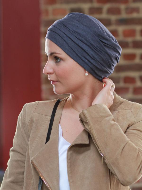 Top Noa jeans - chemotherapie mutsje / alopecia mutsje
