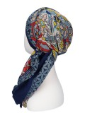 Sjaalmutsje New Delhi Multi B - hoofddoekjes chemo / alopecia sjaal
