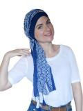 Sjaalmutsje New Delhi triangle B - chemo hoofdsjaal / alopecia sjaal