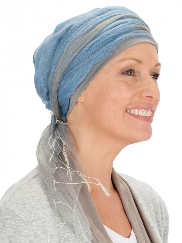 Sjaalmutsje GB - chemo sjaal / alopecia sjaal