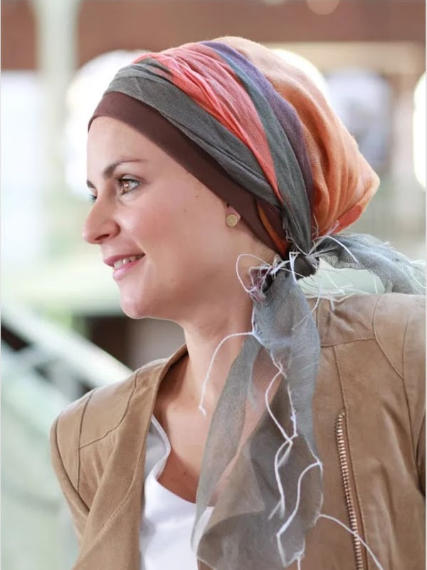 Sjaalmutsje Tania Autumn - chemo hoofddoekje
