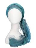 Sjaalmutsje Ocean - hoofdbedekking na chemo of alopecia sjaal