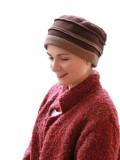 Mutsje Zoë Bruin - (winter) chemo muts