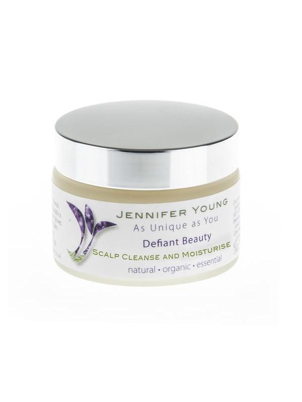 Defiant Beauty Scalp Cleanse en moisturise balsem verkrijbaar bij Mooihoofd voor chemo mutsjes en cosmetica