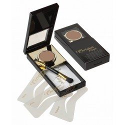 Wenkbrauw make-up bronze