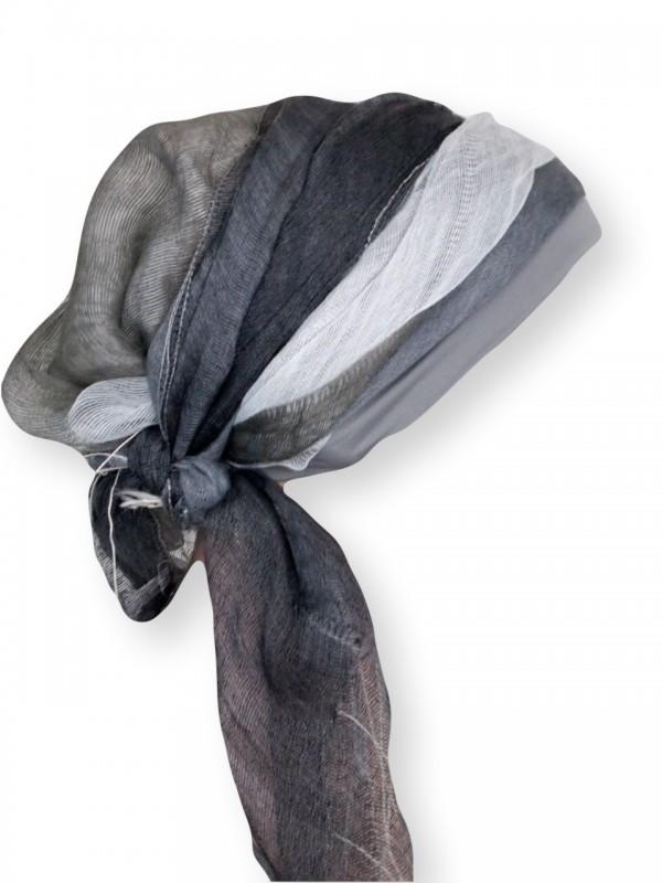 Sjaal-band Grijs