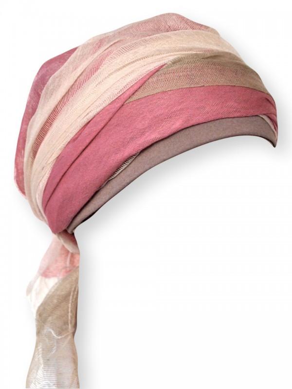 Sjaalmutsje Pink